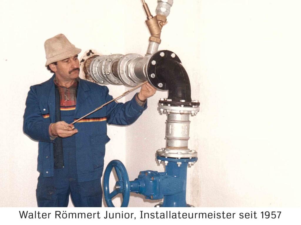 Jubiläum Walter Römmert